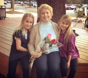 Marta and grandkids